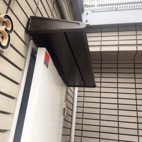 ひさし設置|音羽のビル – 東京/文京区